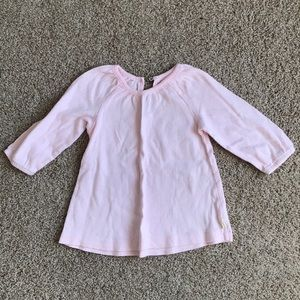 Burt's bees light pink tunic size 6-9 month